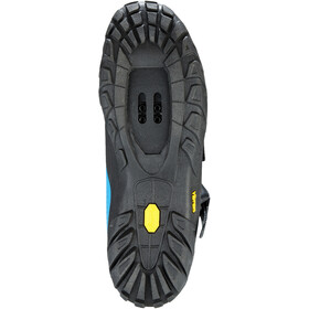 Giro Terraduro Shoes Herre blue jewel/black